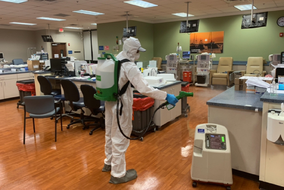 How Does ServiceMaster by Lovejoy Decontaminate Coronavirus?