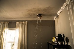 Water Damage from the Ceiling